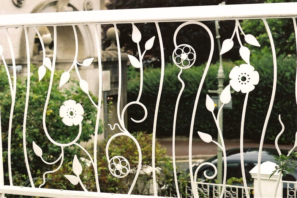 Flower Railings 2