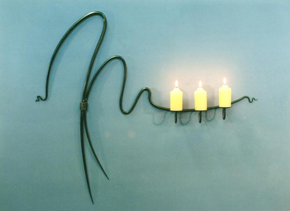 Three Candleholder