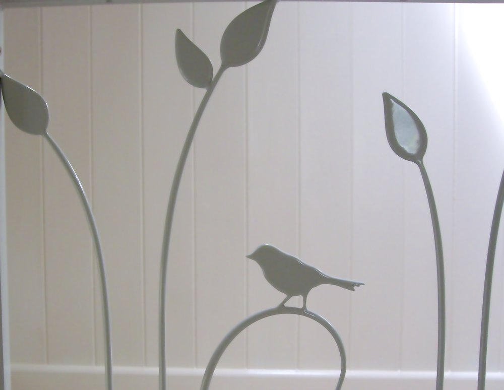 Detail of 'Birdy Railings'