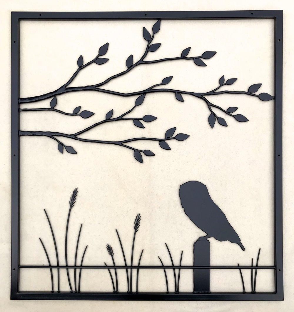 Owl Wall Piece