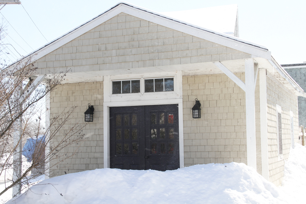 This newly built garage, storage, or office space makes for a wonderful addition to this property.