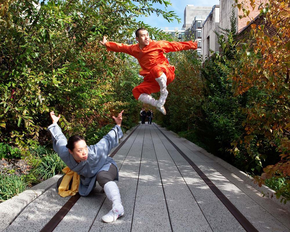 Shifu Hengxin and Shimu Arlene, Shaolin Training Center, NY.