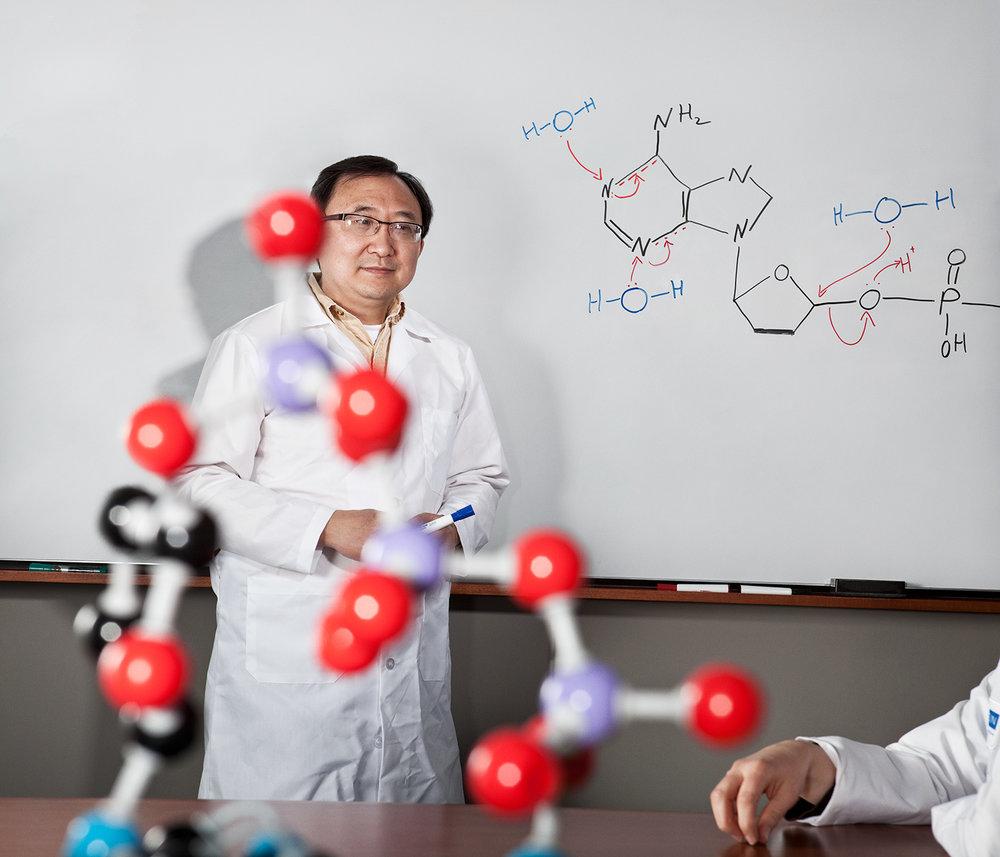 Wenchi, Scientist.