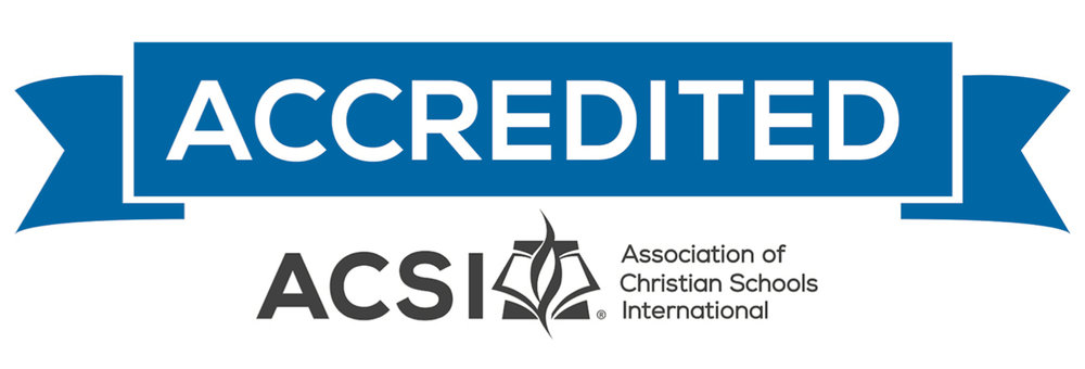 Valley Christian School is a member of the Association of Christian Schools International and will be fully accredited by May 2019 (K-8 program)