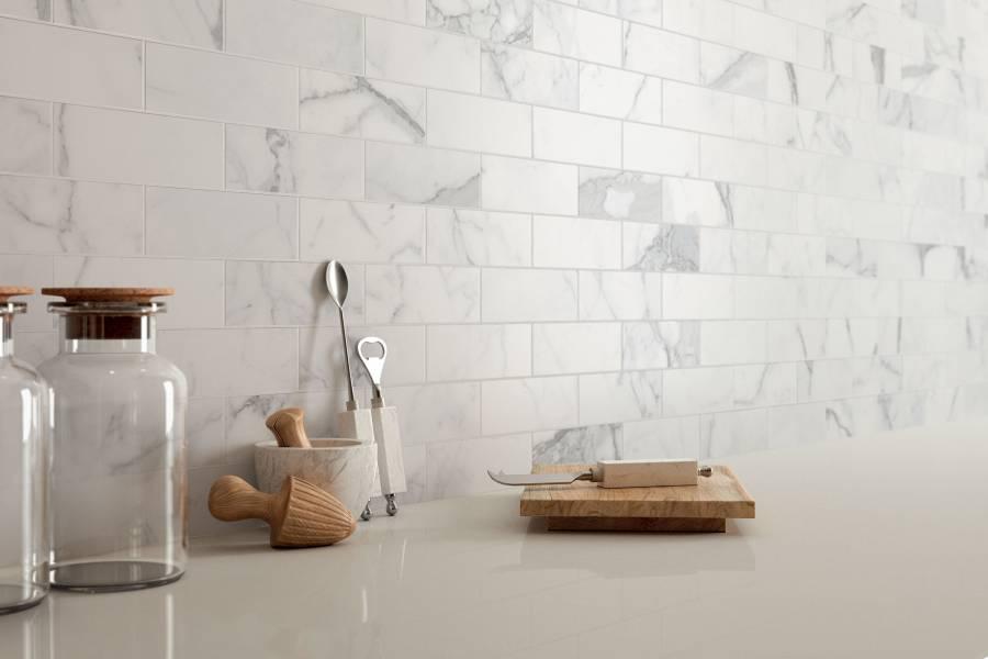 Tile & Stone - Featuring Landmark Ceramics & Caesarstone Quartz