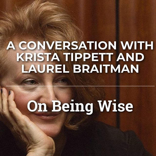Bay Area folks—I'm talking to the amazing  Krista Tippett of @onbeing this Friday, live onstage, part of @ciispubprograms ❤️ Come on out and say hi and submit some questions! Tix link in profile.