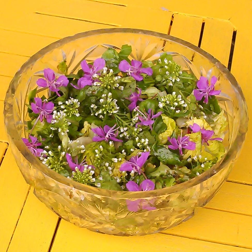 Salat fra Øverland