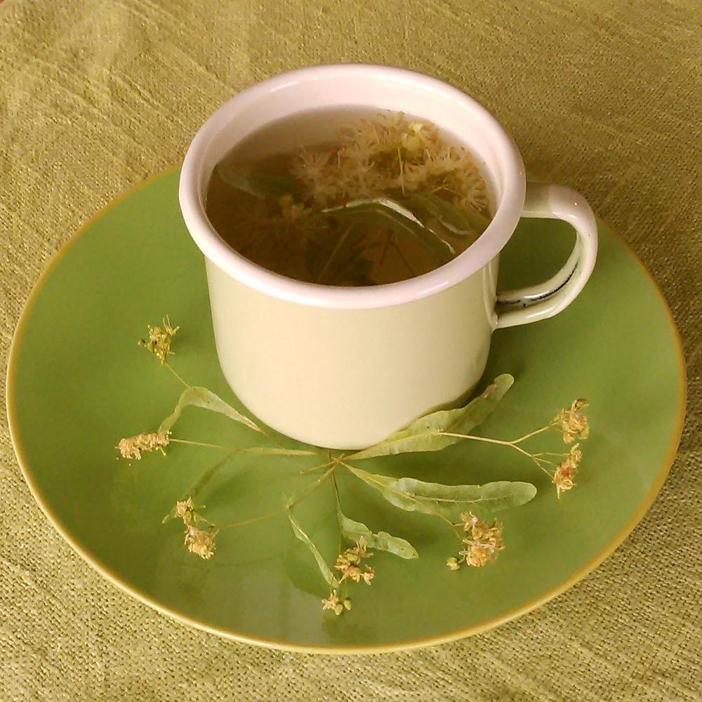 Deilig med en kopp lindeblomst te før man legger seg.