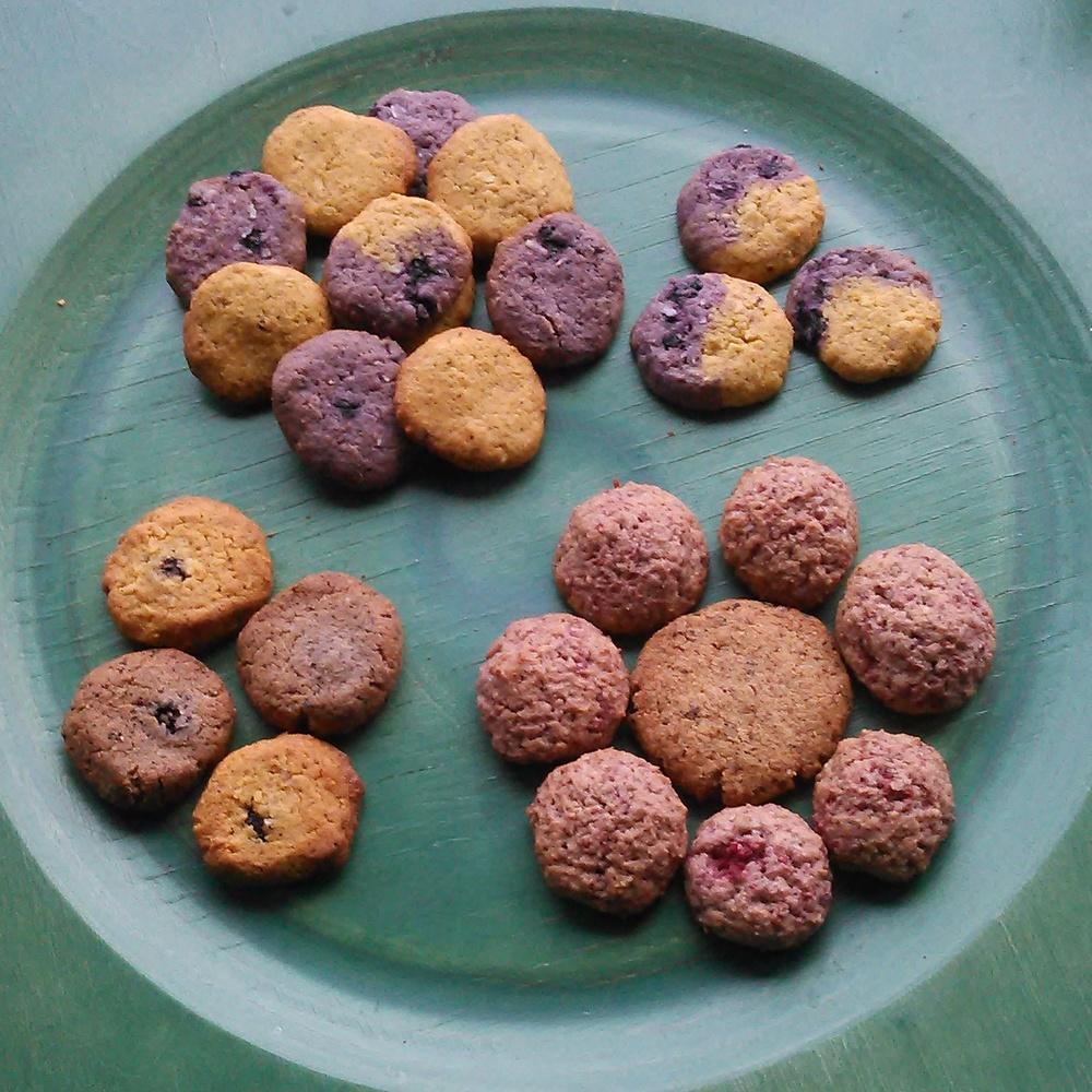 Herlige bær småkaker
