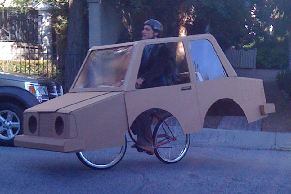 how to make a car with cardboard and motor