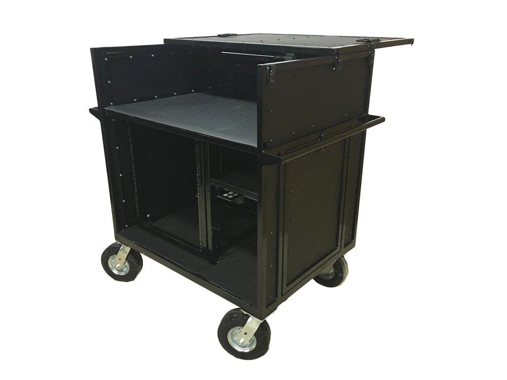 PERCUSSION Electronics Mixer Cart - CDMIX12, CDMIX24