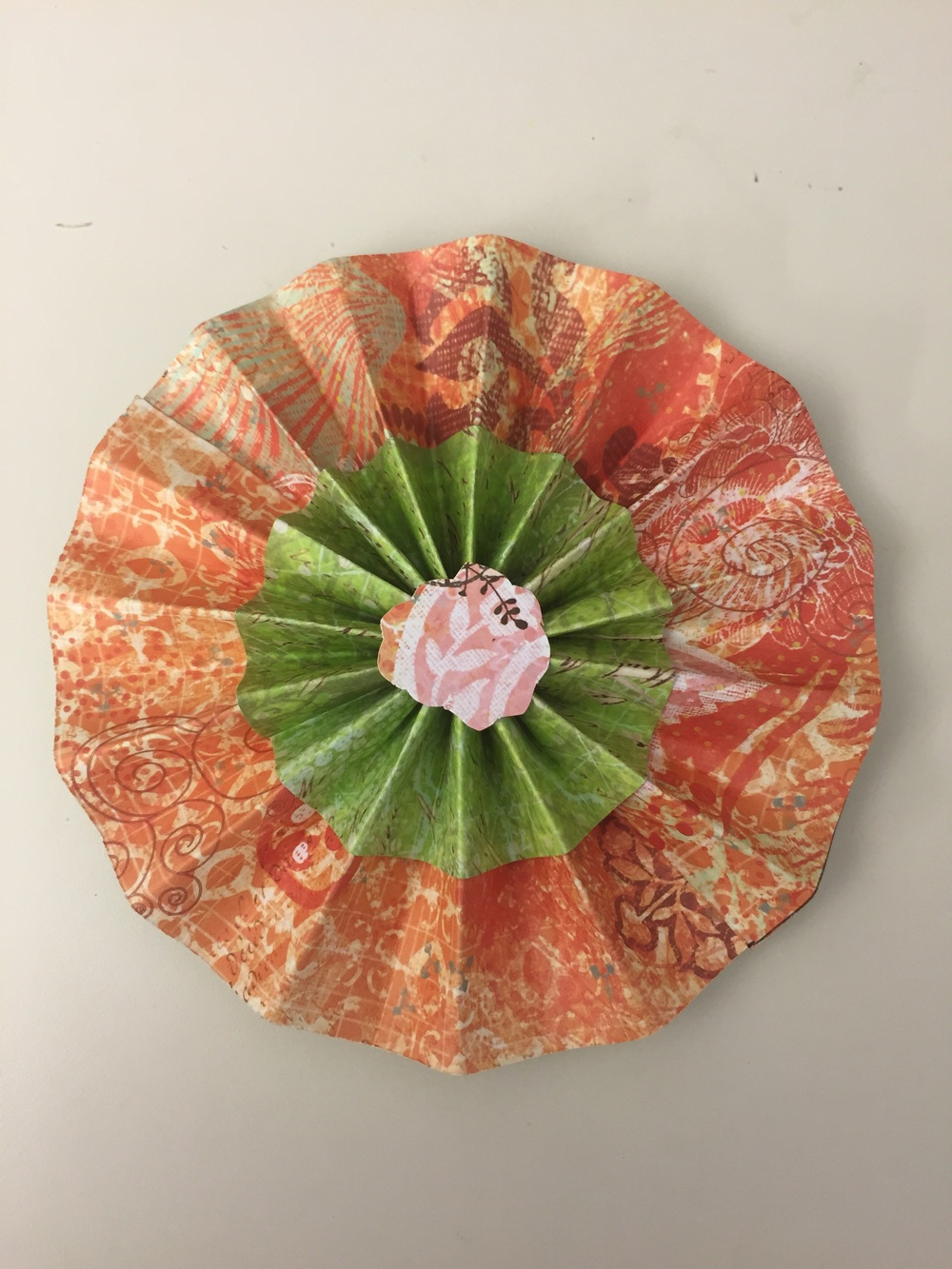 A stacked rosette.