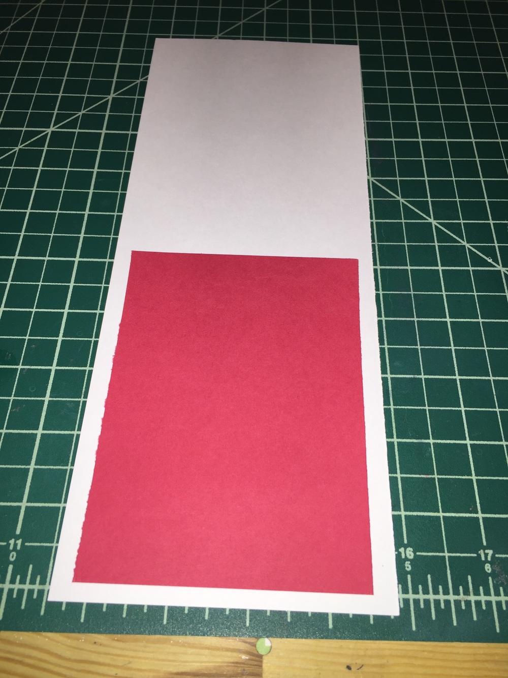 Red insert.