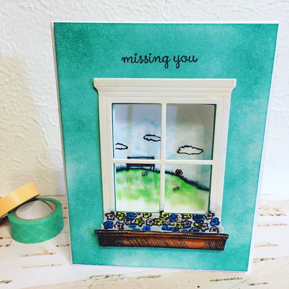 A window card
