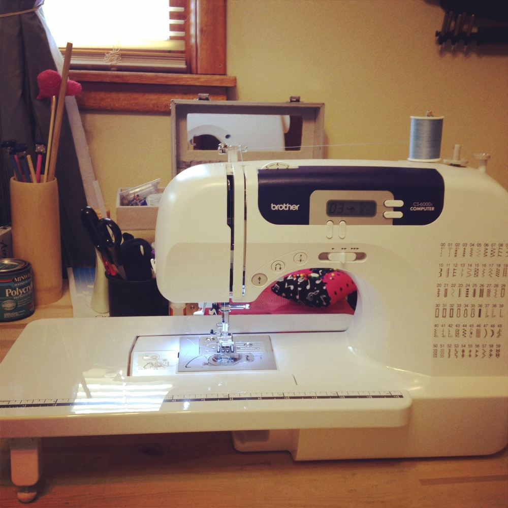 My awesome quilting machine!