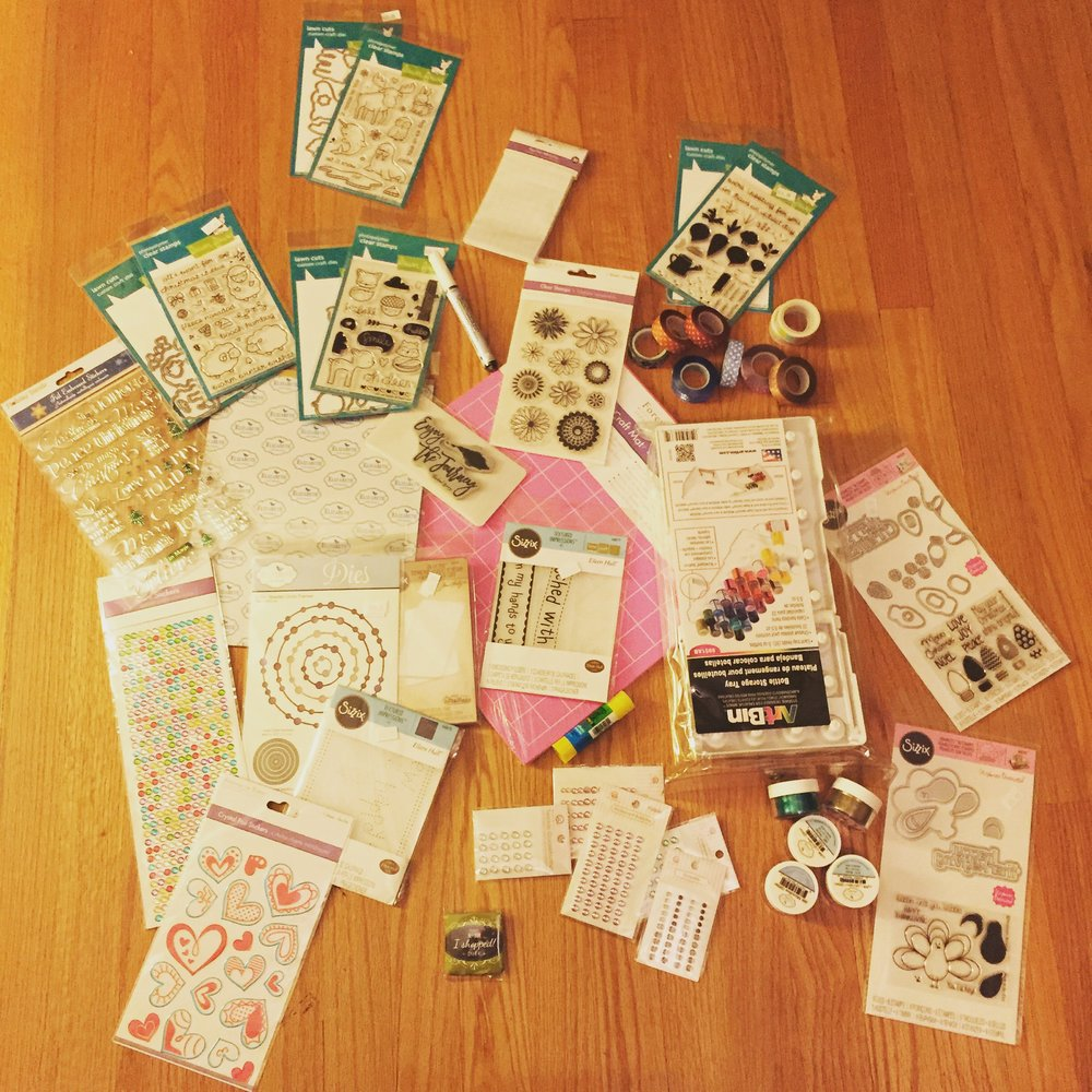 Scrapbook Expo Haul