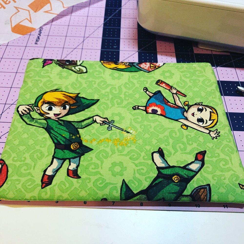 Zelda fabric!