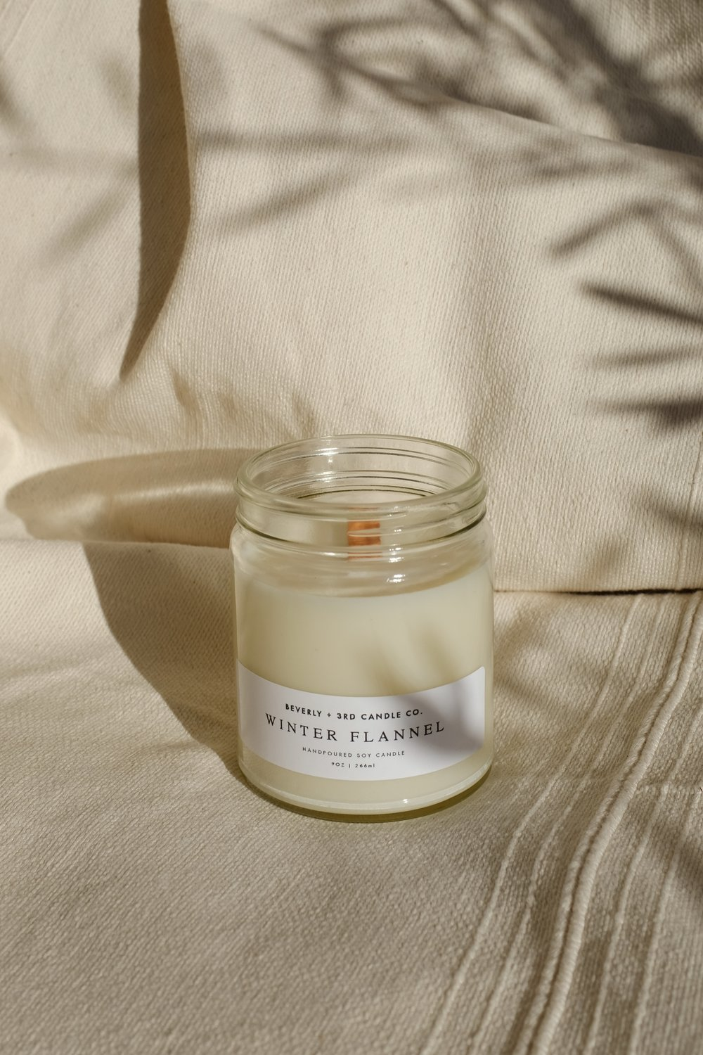 Winter Flannel Candle - 22.