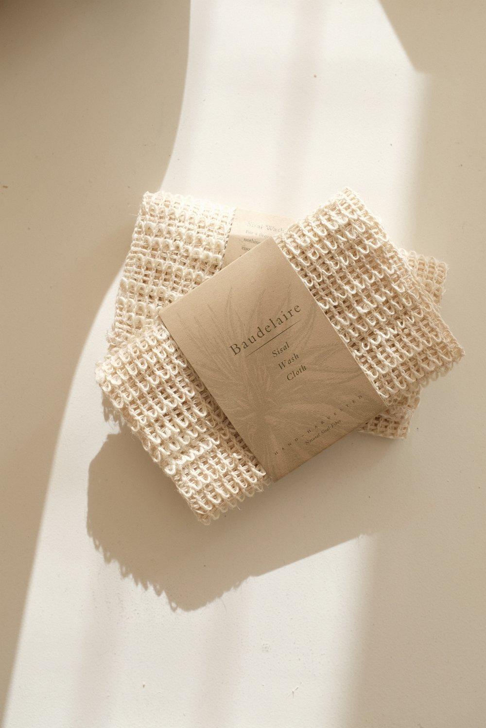 Sisal Wash Cloth - 9.