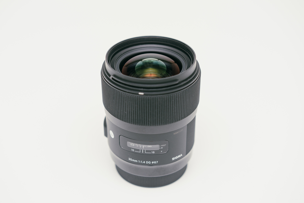 My old Sigma 35mm f/1.4 Art