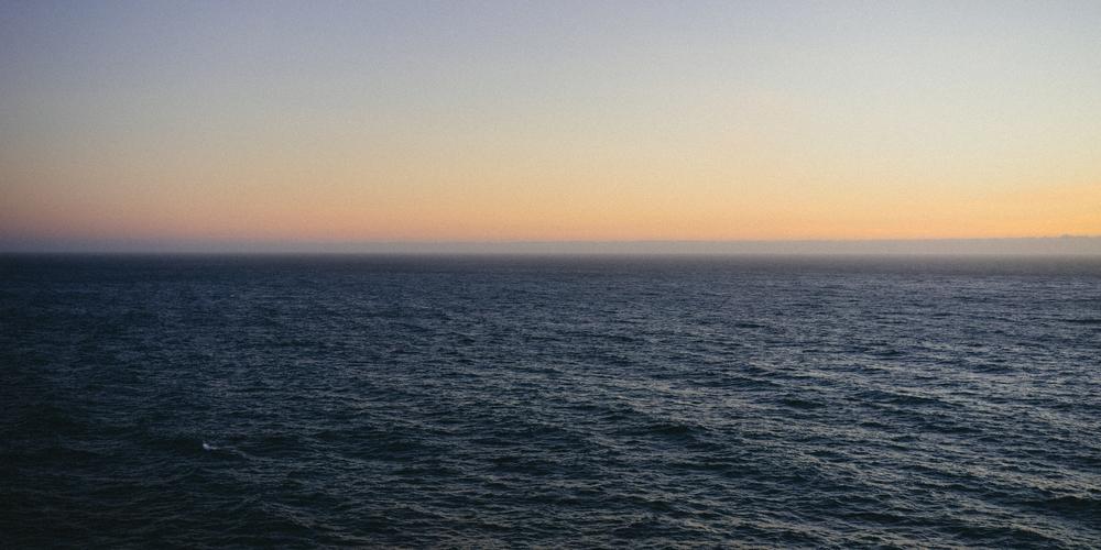 Sunset near Pfeiffer Beach
