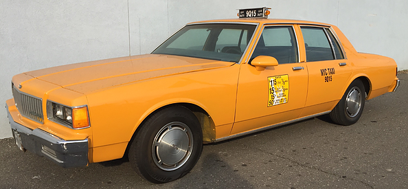1987 Chevrolet Caprice Nyc Taxi Veloce Picture Cars