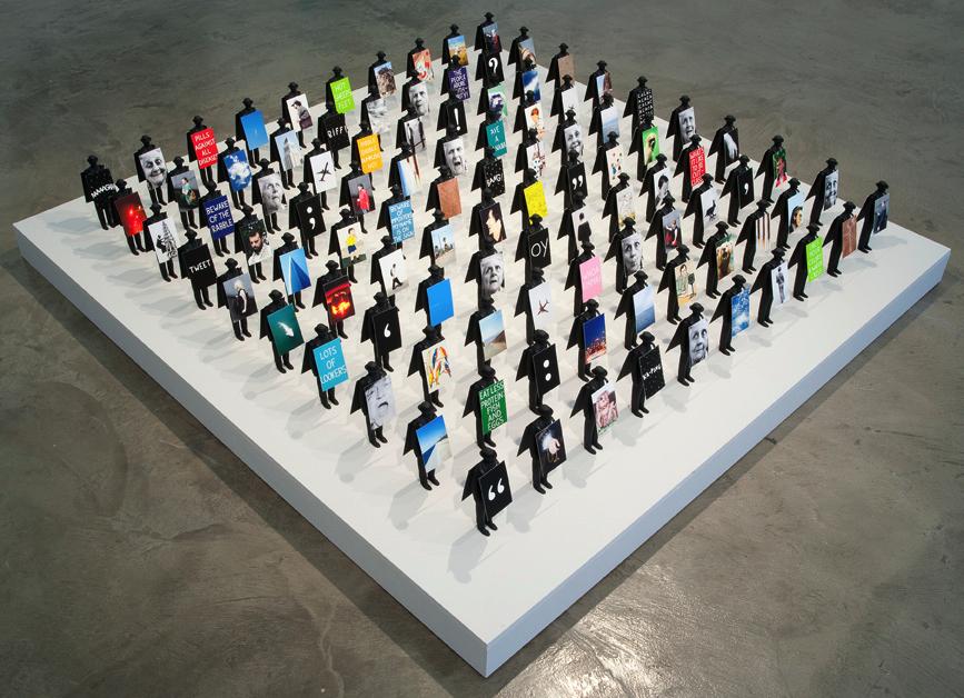 Richard Kraft ,100 Walkers : Los Angeles (for Stanley Green)