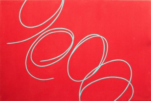 June Harwood,U ntitled from the Colorform series ,1966 acrylic on canvas