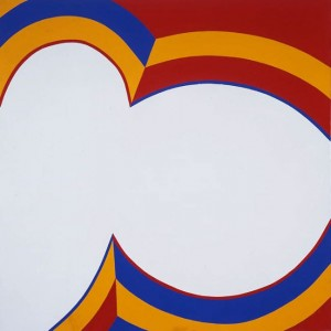 June Harwood,  Colorform (Bullseye) , 1964 acrylic on canvas