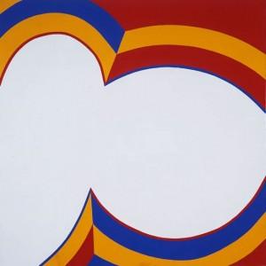 June Harwood,  Colorform (Bullseye) ,1964 acrylic on canvas