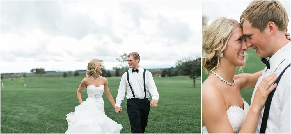 © Jessica Bonestroo Photography, Graham and Mariah, Terrace View Event Center, floral robes, black and white, Iowa Wedding Photographer,