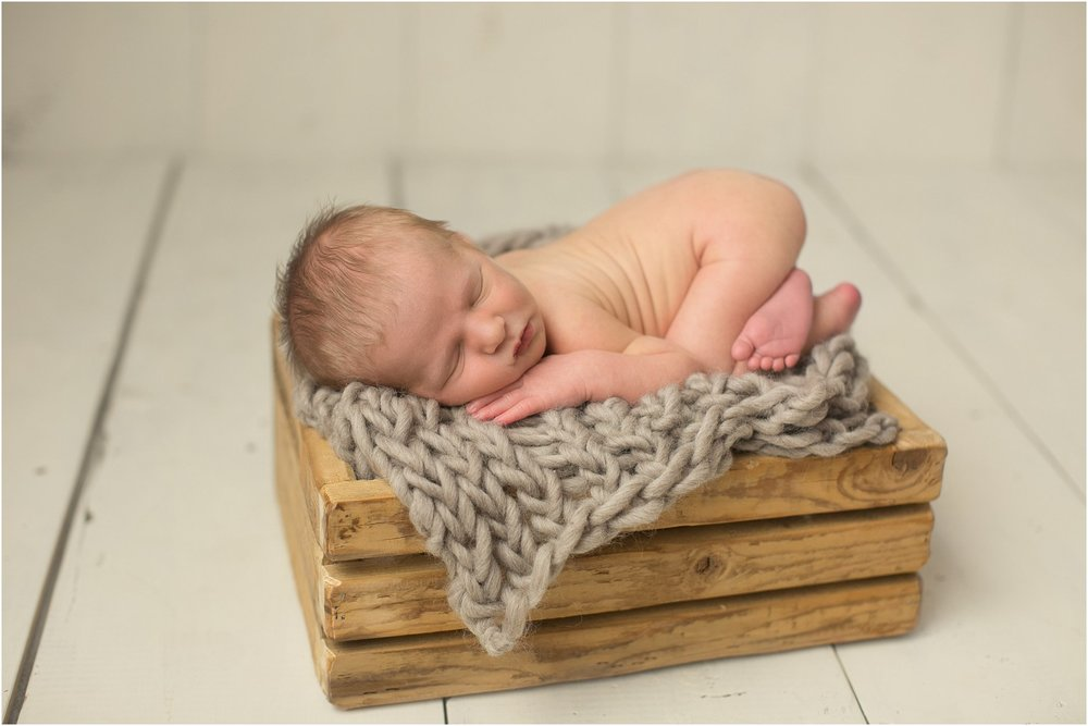 © Jessica Bonestroo Photography, Iowa newborn photographer, Drake Charles, newborn session, baby boy