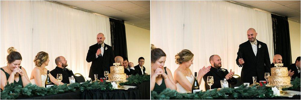 best man wedding speech green and gold