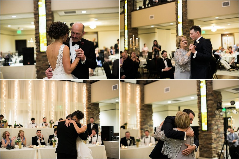 mother son and father daughter dances