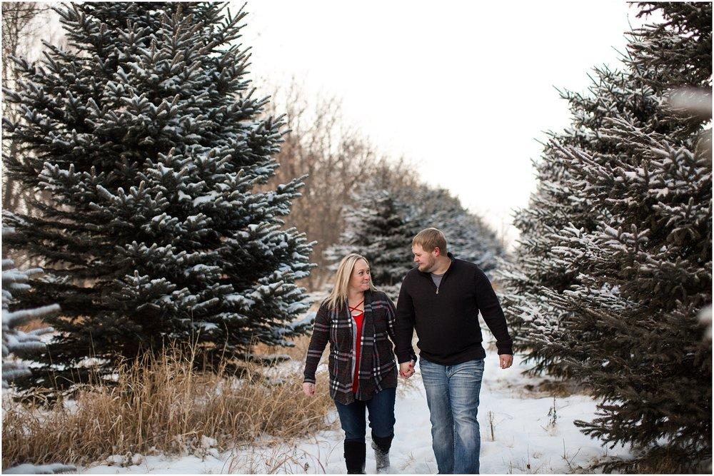Winter Wonderland Engagement Session