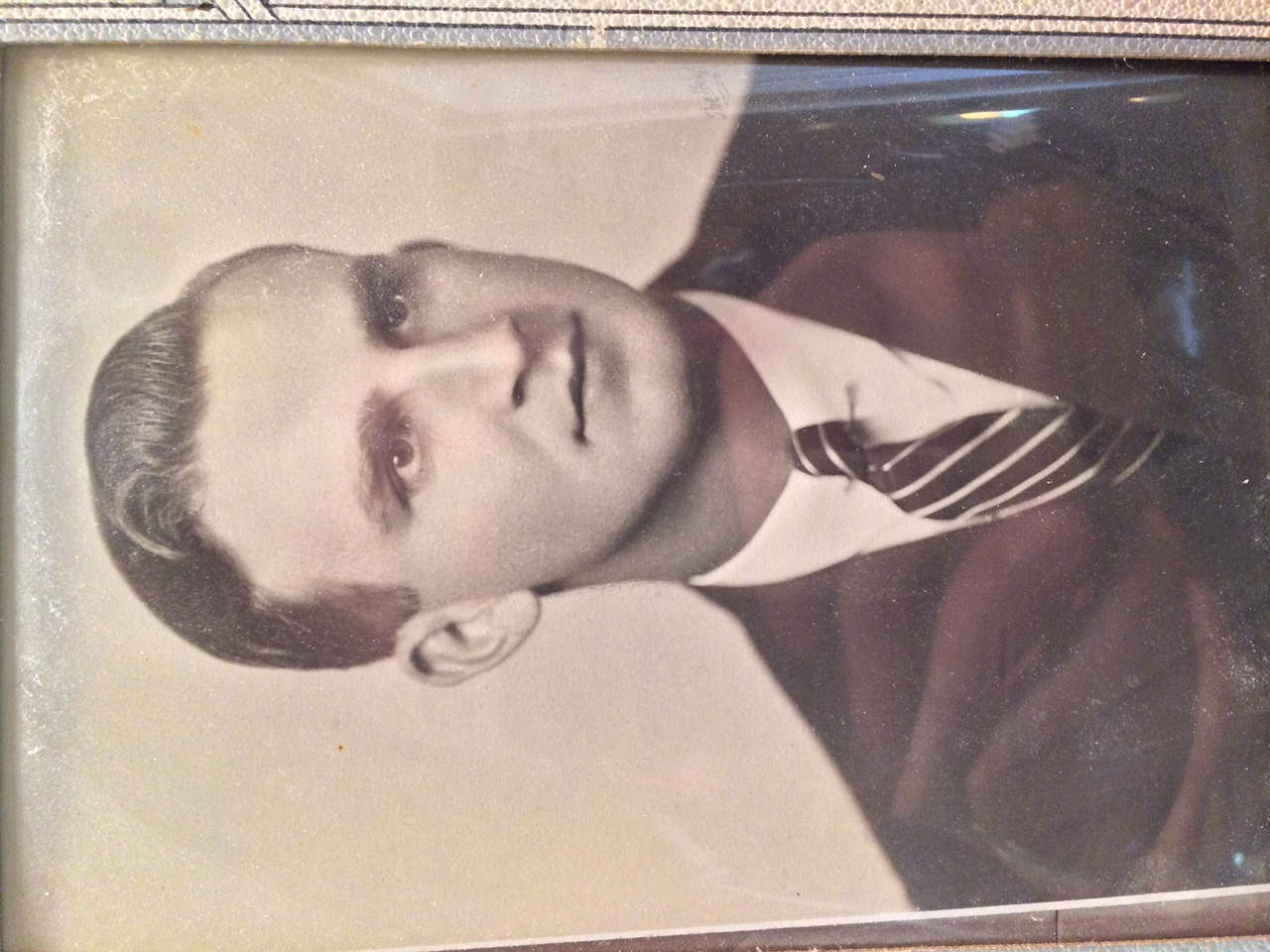 My grand-father on my dad's side, Robert Shellenberger