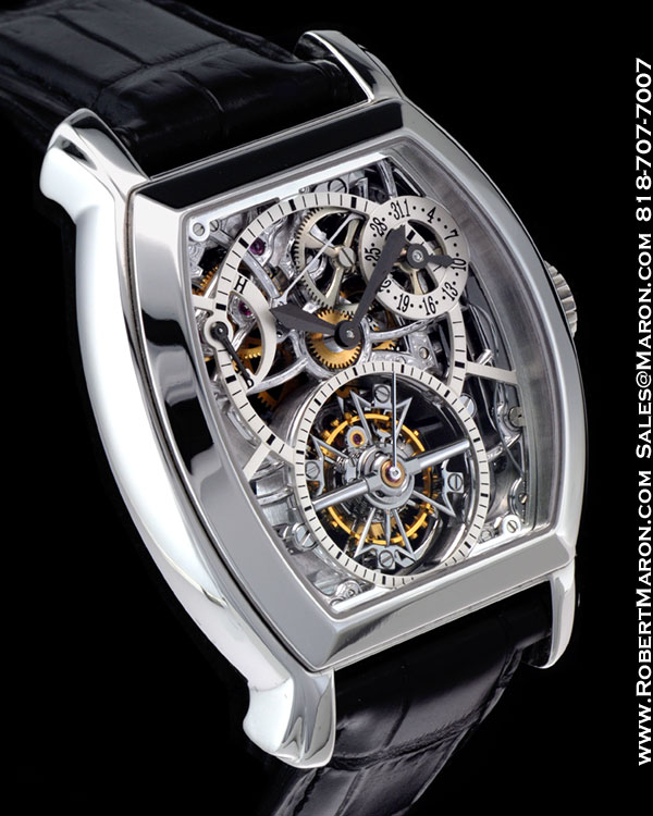 Vacheron Constantin 30066 Malte Skeleton Tourbillon. Mechanical, Hand-Wound.