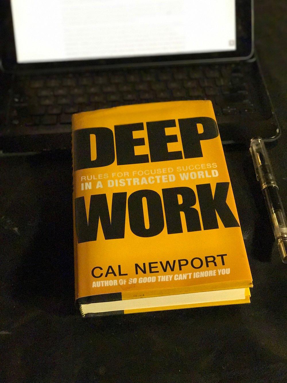 Cal newport deep work