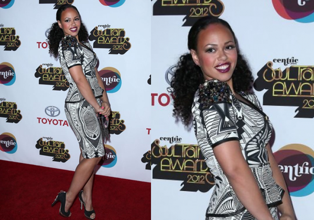 Elle Varner- Soul Train Music Awards
