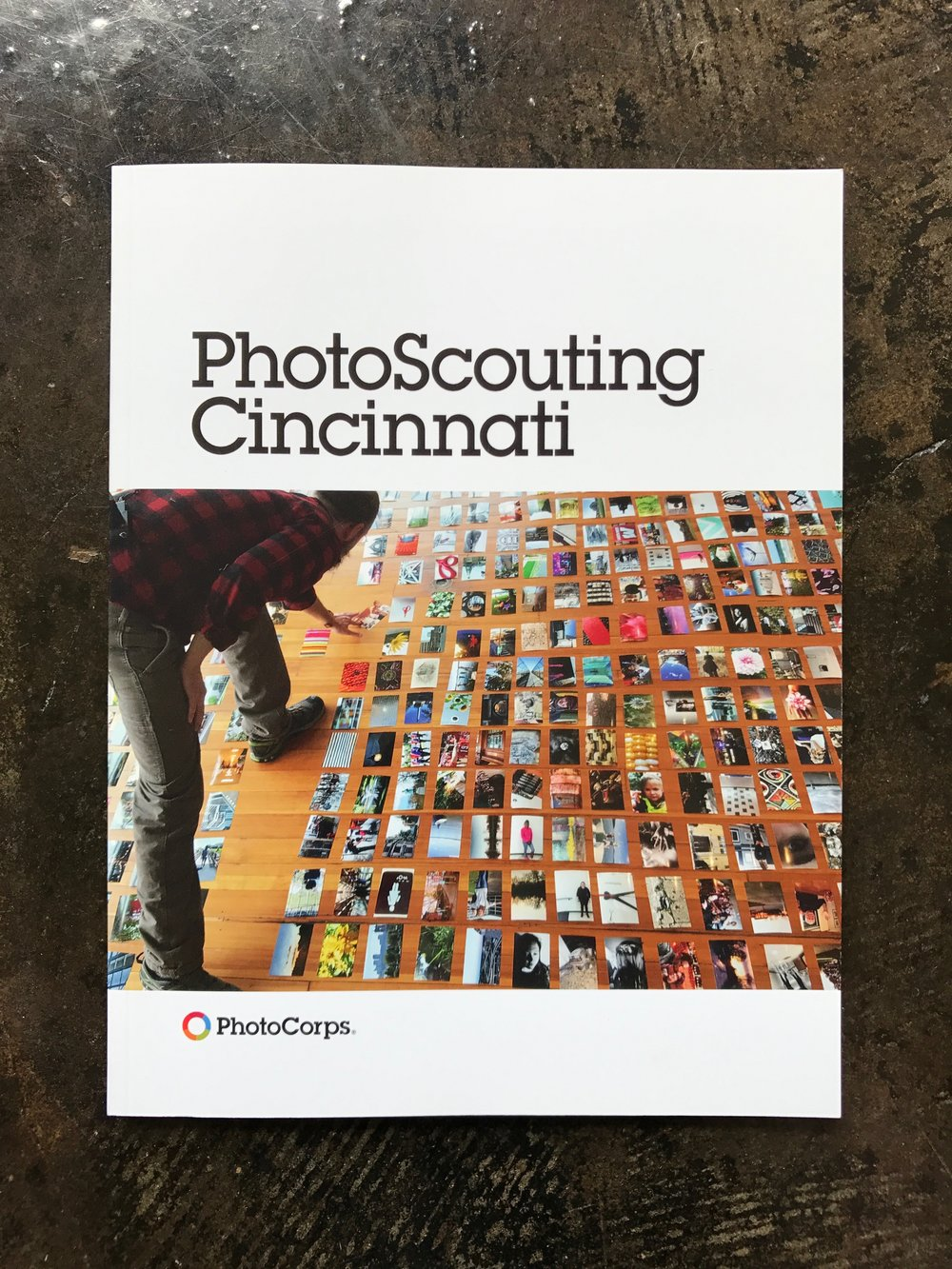 PhotoScouting Cincinnati  - First Edition (print). Chris Glass' People's Liberty project, PhotoCorps, published a book containing locally-sourced photography based on specific community themes. I contributed 5 pieces to it.
