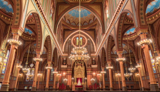 Historic Plum Street Temple Just Might Be The Most Beautiful Place In Downtown Cincy - Cincinnati Refined article and photo gallery.