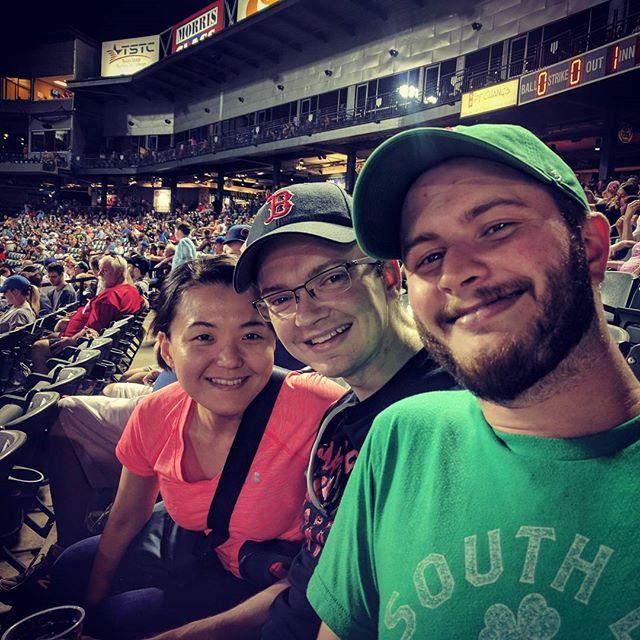 Baseball, family and fun. #allamerican #labordayweekend @rrexpress