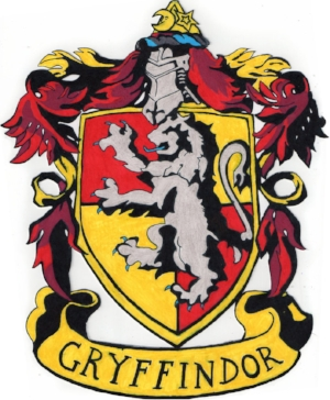 I love the Harry Potter series and was sorted into the Gryffindor House!