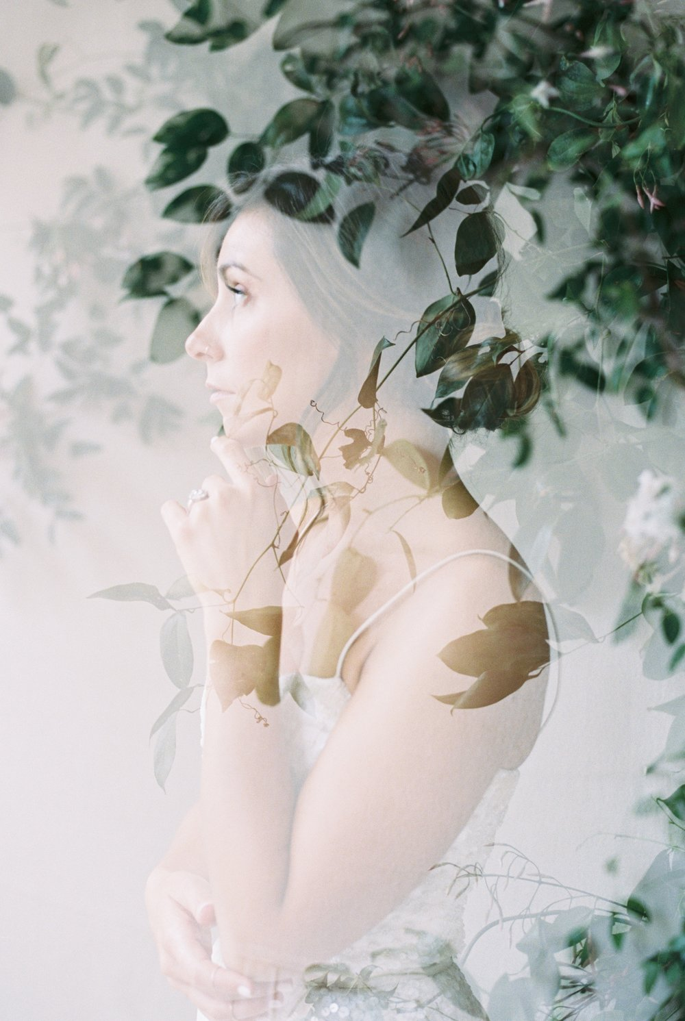 Caroline Koehler Photography's double exposure