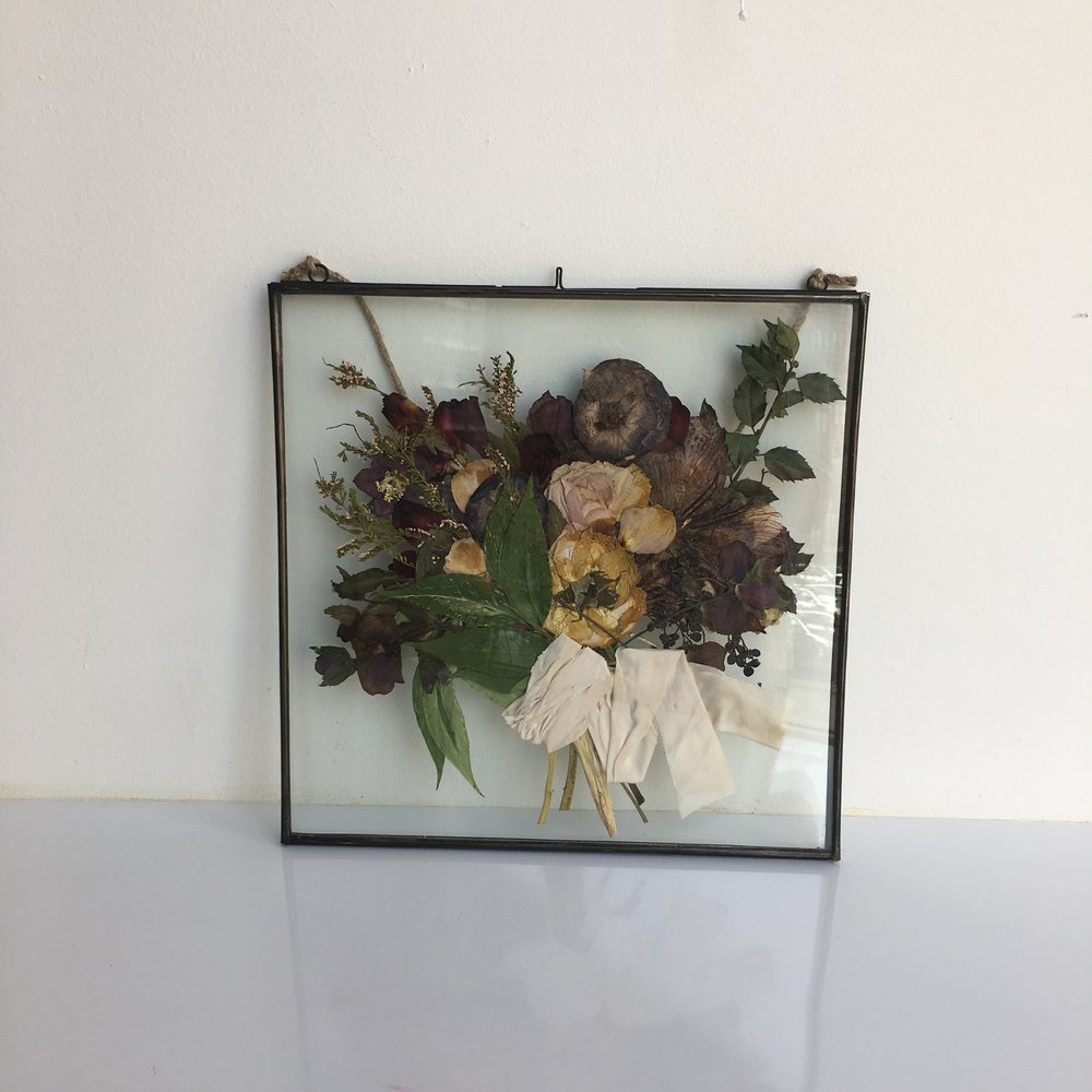 Kylie's preserved bouquet
