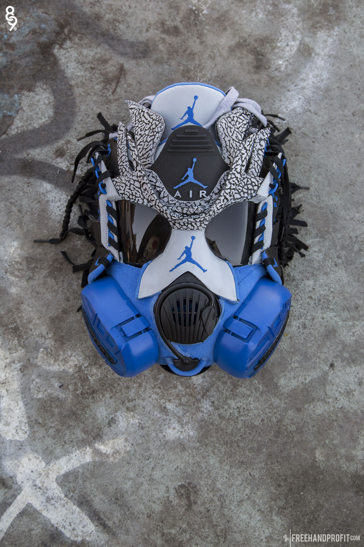 Freehand profit no125 sport blue iii gas mask voltagebd Image collections