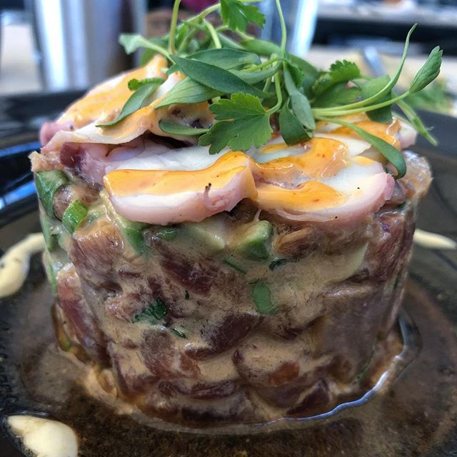 This is how we present our Seafood Salad 😋😋😋 . . . . . #chef #food #restaurant #photooftheday #foodblog #influencer #enjoy #travel #yum #taste #bite #miami #lunch  #southbeach #yummy #sobe #lunchy #delicious #usa #dinner #brunch #fresh #tasty #yummy #wow #lol #amazing #blogger #lettuceandtomato