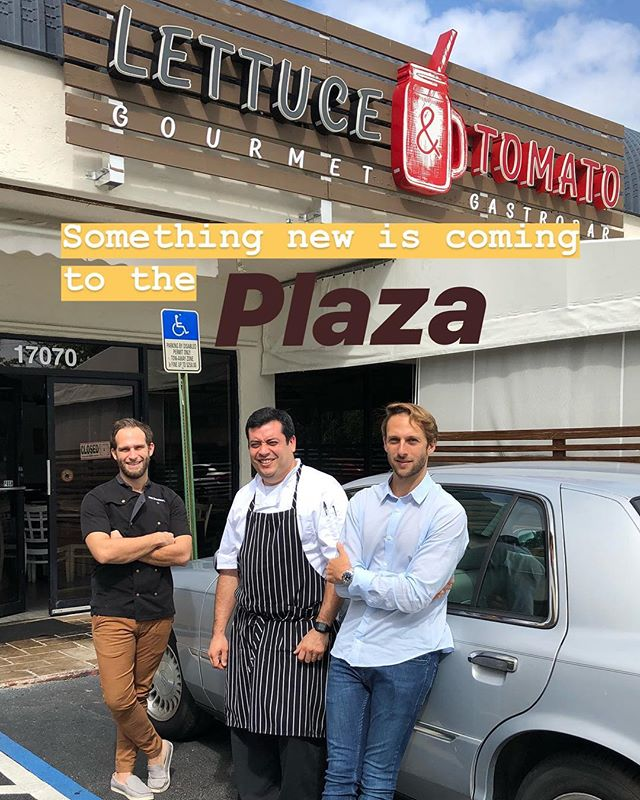 Something new is coming to the plaza ❗️❗️❗️ we'll deliver more INFO SOON 😉😉 . . . . . #chef #food #restaurant #photooftheday #foodblog #influencer #enjoy #travel #yum #taste #bite #miami #lunch  #southbeach #yummy #sobe #lunchy #delicious #usa #dinner #brunch #fresh #tasty #yummy #wow #lol #amazing #blogger #lettuceandtomato