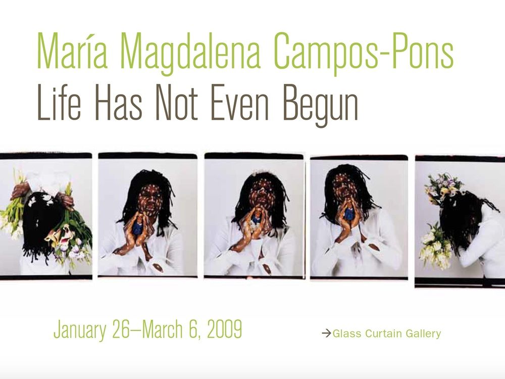 Maria Magdalena Campos-Pons: Life Has Not Even Begun
