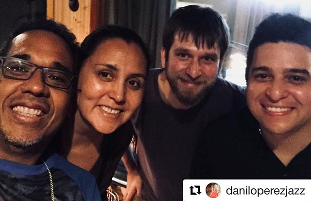 Today I was having a great a time!  recording for Patricia Album 👏👏 Thanks to @patriciazarate2015 and @daniloperezjazz for the opportunity, always is a treasure to learn from you guys 👏 looking forward to meet you again! 🇻🇪🇺🇸🇨🇱🇵🇦 God bless you all! . . . . . . . . . . . . . . . . #berkleealumni #music #boston #berkleecollegeofmusic #jazz #jazzmaster #worldmusic #folk #cuatrovenezolano #godisgood @blacksmithstrings_official @berkleecollege @berkleealumni